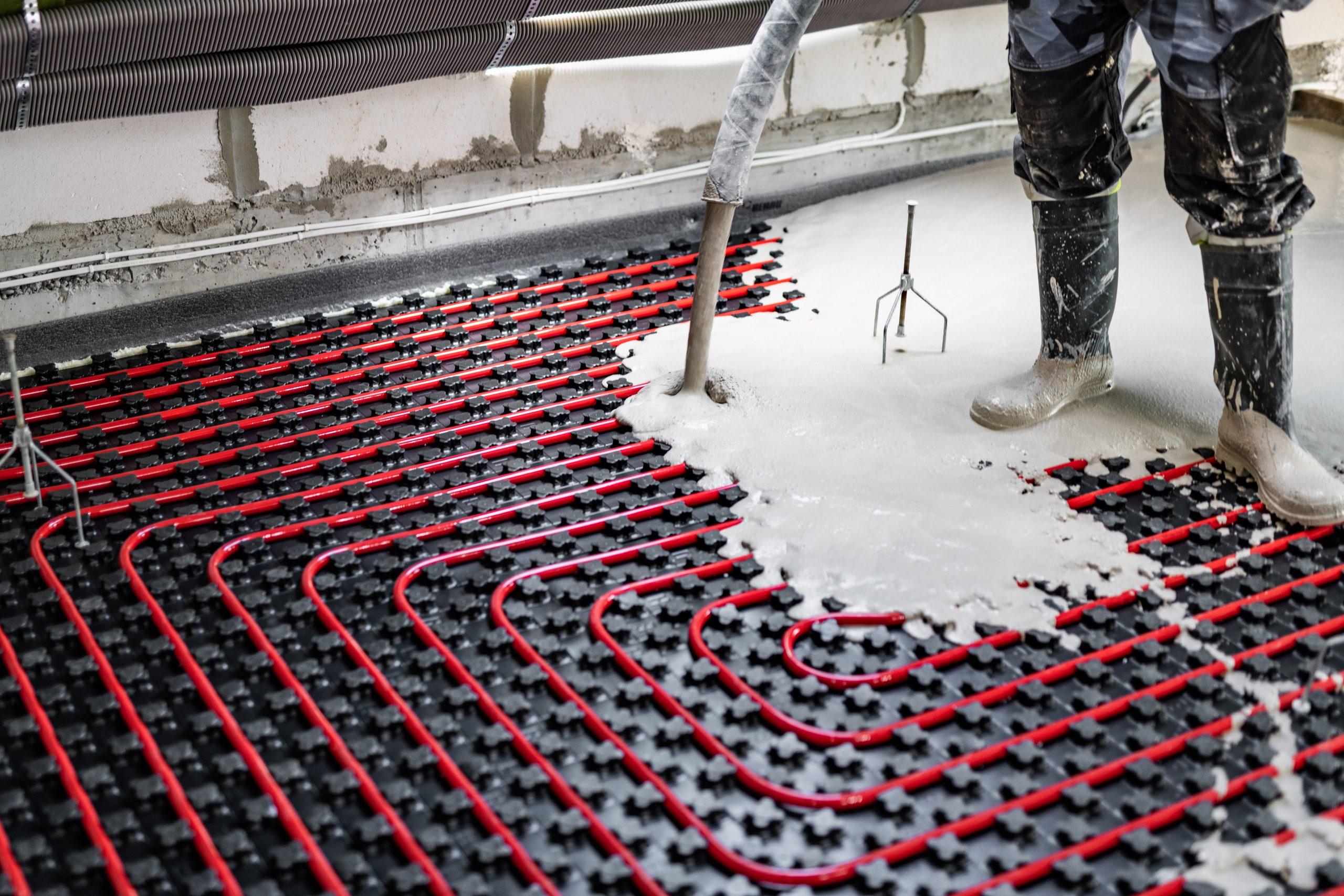bertico Chape liquide sur plancher chauffant